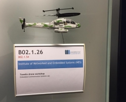 The Role of Communication, Localization and Control in UAV systems