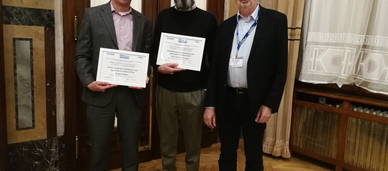 Received Two Awards from IEEE ComSoc TC-PLC