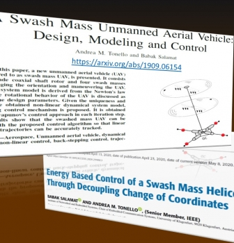 The Swash Mass Helicopter