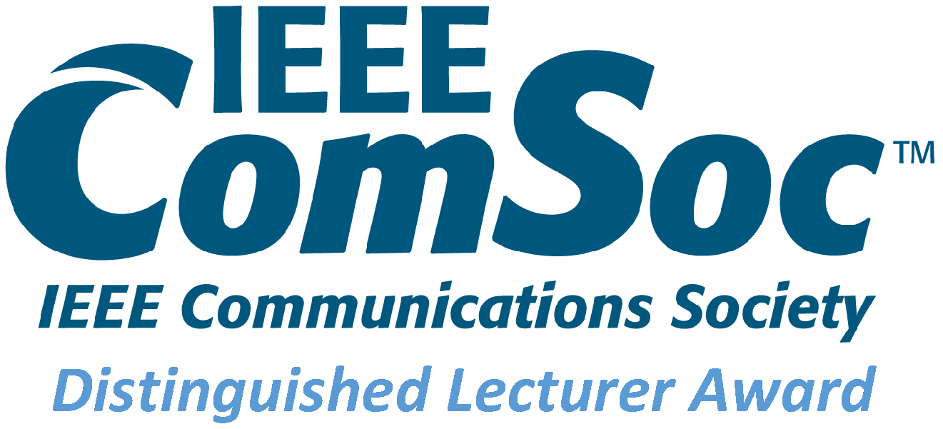 Appointed IEEE Comsoc Distinguished Lecturer